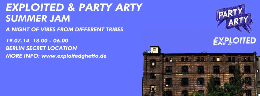 Banner Exploited Party Arty Summer Rave